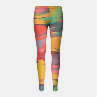Fairytale Sunset Girl's leggings thumbnail image