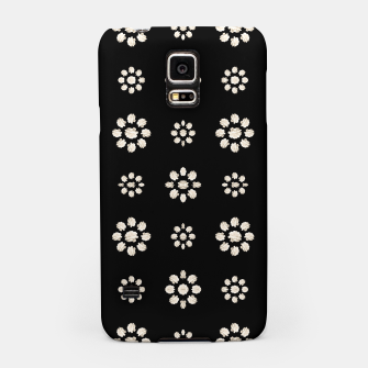 Thumbnail image of Dark Stylized Floral Pattern Samsung Case, Live Heroes