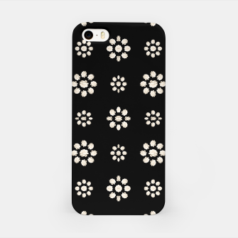 Thumbnail image of Dark Stylized Floral Pattern iPhone Case, Live Heroes