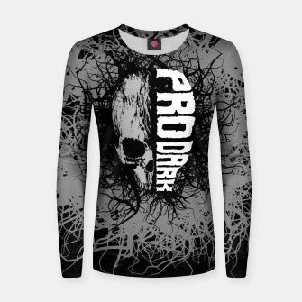 Thumbnail image of Pro Dark Woman cotton sweater, Live Heroes