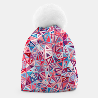 Thumbnail image of Colorful Low Poly Design Beanie, Live Heroes