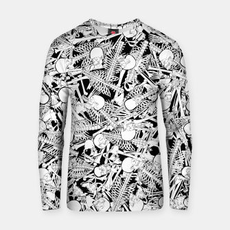 Thumbnail image of The Boneyard Cotton sweater, Live Heroes