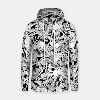 Thumbnail image of The Boneyard Cotton hoodie, Live Heroes