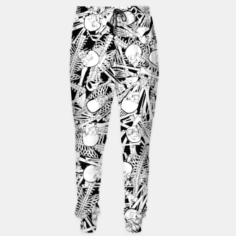 Thumbnail image of The Boneyard Cotton sweatpants, Live Heroes