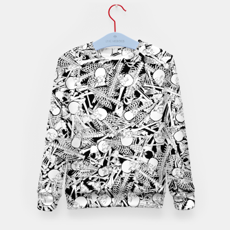 Thumbnail image of The Boneyard Kid's sweater, Live Heroes
