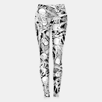 Thumbnail image of The Boneyard Leggings, Live Heroes