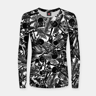 Thumbnail image of The Boneyard II Woman cotton sweater, Live Heroes