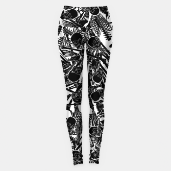 Thumbnail image of The Boneyard II Leggings, Live Heroes