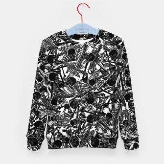 Thumbnail image of The Boneyard II Kid's sweater, Live Heroes