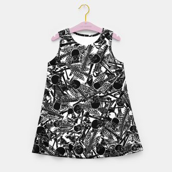 Thumbnail image of The Boneyard II Girl's summer dress, Live Heroes