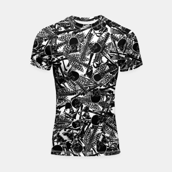Thumbnail image of The Boneyard II Shortsleeve rashguard, Live Heroes