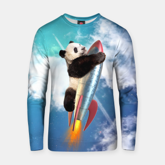 Miniatur Fly Panda Fly Cotton sweater, Live Heroes