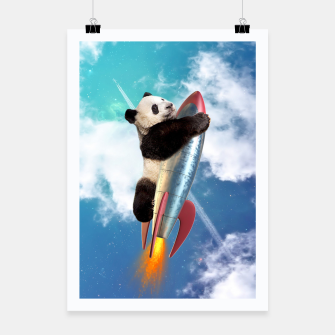 Fly Panda Fly Poster miniature