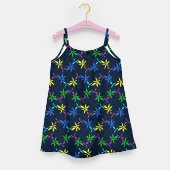 Miniaturka Colored Leaves Girl's dress, Live Heroes