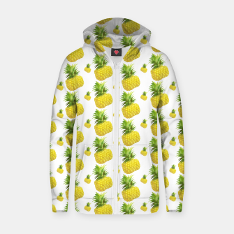 Miniature de image de XiaoTieJun Pineapple Cotton zip up hoodie, Live Heroes
