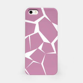 Thumbnail image of iPhone case Pink Blocks, Live Heroes