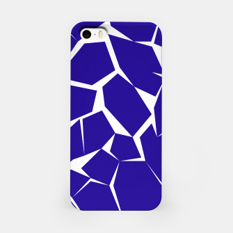 Thumbnail image of iPhone case blue blocks, Live Heroes