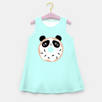 Miniatur Donut Panda Girl's summer dress, Live Heroes