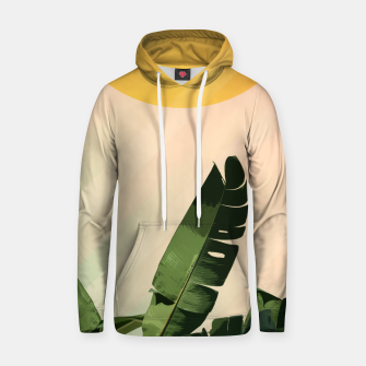 Thumbnail image of Sunny heliconia Cotton hoodie, Live Heroes
