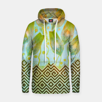 Miniature de image de Abstract flowers pattern  Cotton hoodie, Live Heroes