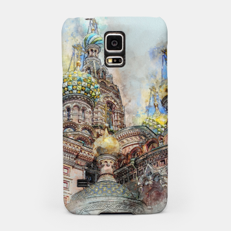 Thumbnail image of Saint Petersburg City Russia Colour Digial Painting Samsung Case, Live Heroes