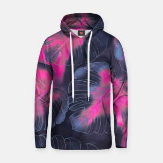 Miniature de image de Neon Leaves  Cotton hoodie, Live Heroes