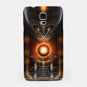 Thumbnail image of The Throne Room Fractal Art Architecture Samsung Case, Live Heroes