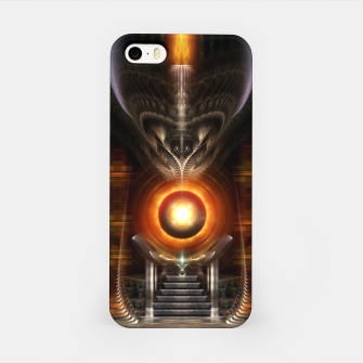 Thumbnail image of The Throne Room Fractal Art Architecture Zm iPhone Case, Live Heroes