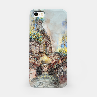 Thumbnail image of Saint Petersburg City Russia Colour Digial Painting iPhone Case, Live Heroes