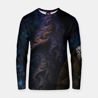 Thumbnail image of Orthricon Fantasy Fractal Art Zm Cotton sweater, Live Heroes