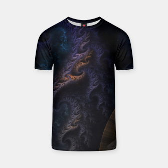 Thumbnail image of Orthricon Fantasy Fractal Art T-shirt, Live Heroes