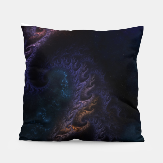Thumbnail image of Orthricon Fantasy Fractal Art Pillow, Live Heroes