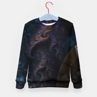 Thumbnail image of Orthricon Fantasy Fractal Art Kid's sweater, Live Heroes