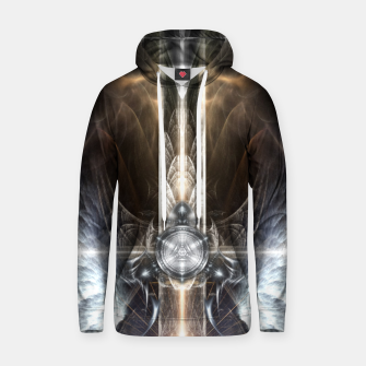 Thumbnail image of Heavenly Angel Wings Cross Cotton hoodie, Live Heroes