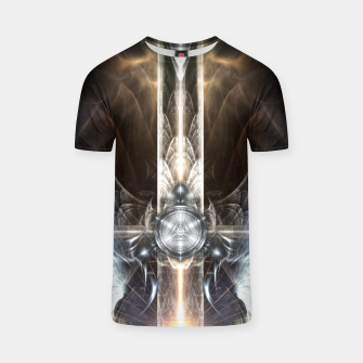 Thumbnail image of Heavenly Angel Wings Cross T-shirt, Live Heroes