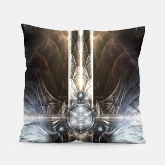 Thumbnail image of Heavenly Angel Wings Cross Pillow, Live Heroes