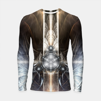 Thumbnail image of Heavenly Angel Wings Cross Longsleeve rashguard , Live Heroes