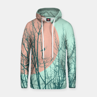 Thumbnail image of Birds and tree silhouette 2 Cotton hoodie, Live Heroes
