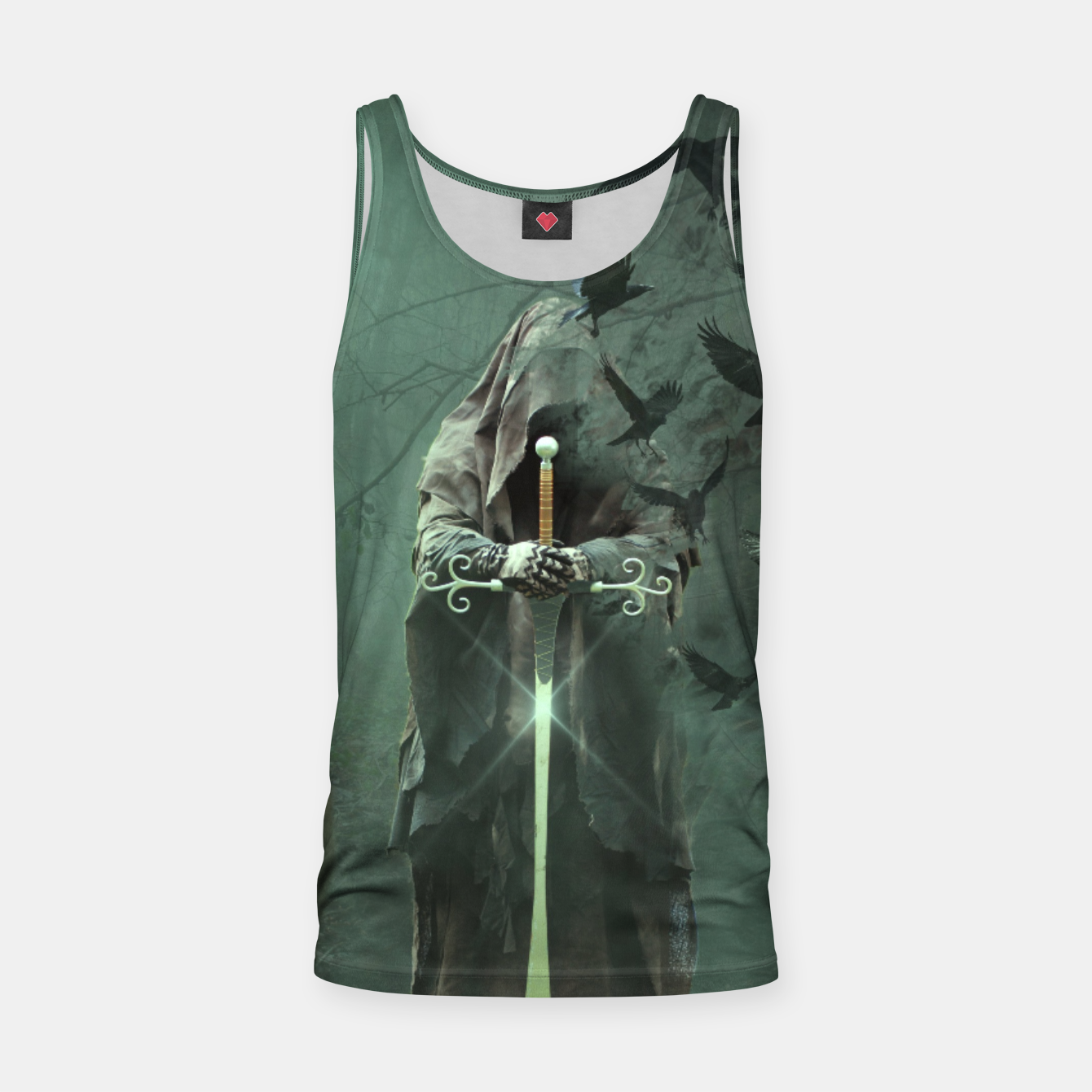 Image de Eden Collapse Tank Top - Live Heroes