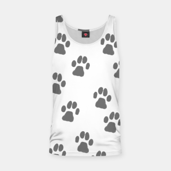 Thumbnail image of Paw print Tank Top, Live Heroes