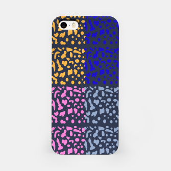 Miniaturka iPhone Case wild Ethno Dots blue, Live Heroes
