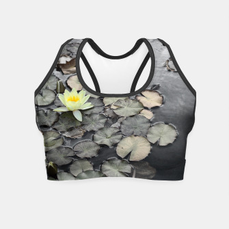 Thumbnail image of Water lilly Crop Top, Live Heroes