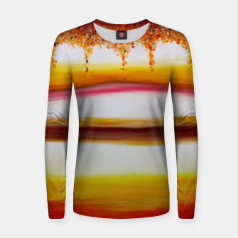 Thumbnail image of Autumn - Woman cotton sweater, Live Heroes