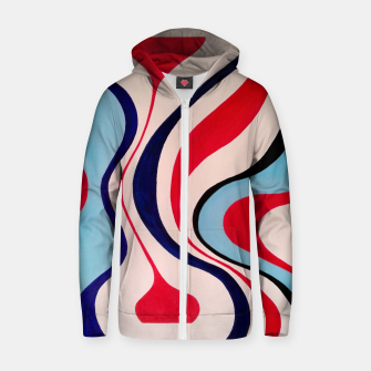 Thumbnail image of Timelessness - Cotton zip up hoodie, Live Heroes