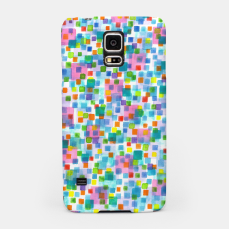 Thumbnail image of Pink beneath Square-Confetti  Samsung Case, Live Heroes