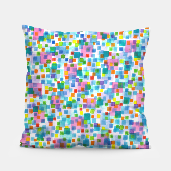 Miniatur Pink beneath Square-Confetti  Pillow, Live Heroes