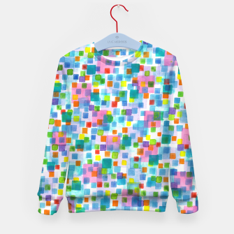 Miniatur Pink beneath Square-Confetti  Kid's sweater, Live Heroes