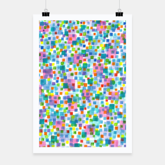 Miniatur Pink beneath Square-Confetti  Poster, Live Heroes