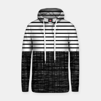 Thumbnail image of platno (black stripes) cotton hoodie, Live Heroes