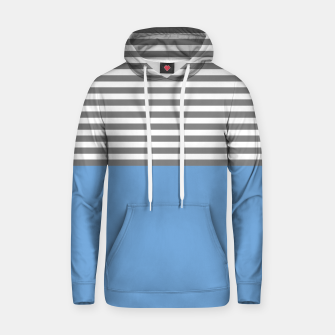 Thumbnail image of ozaren (blue/gray) cotton hoodie, Live Heroes